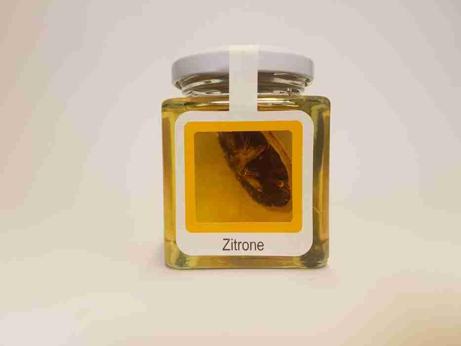 Zitrone im Honig