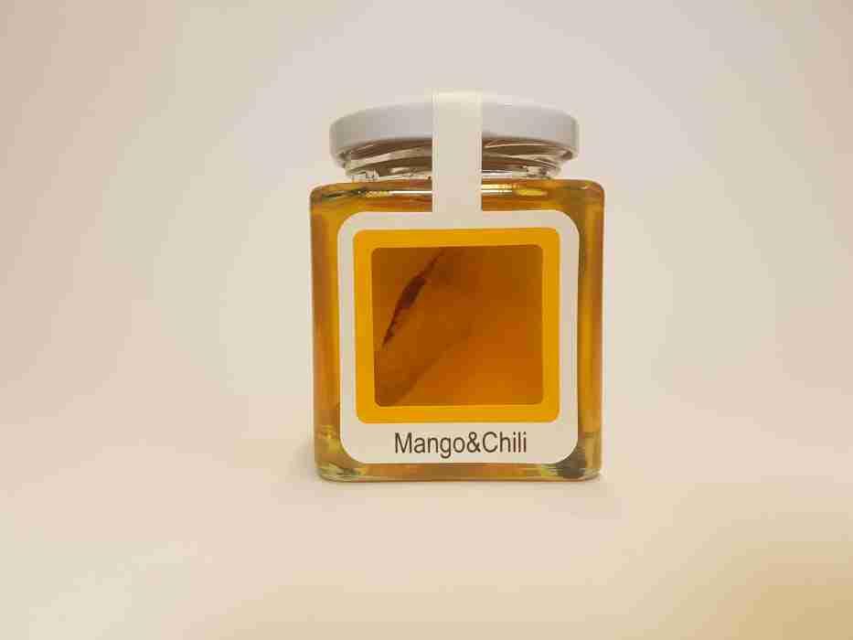 Mango Chilli im Honig
