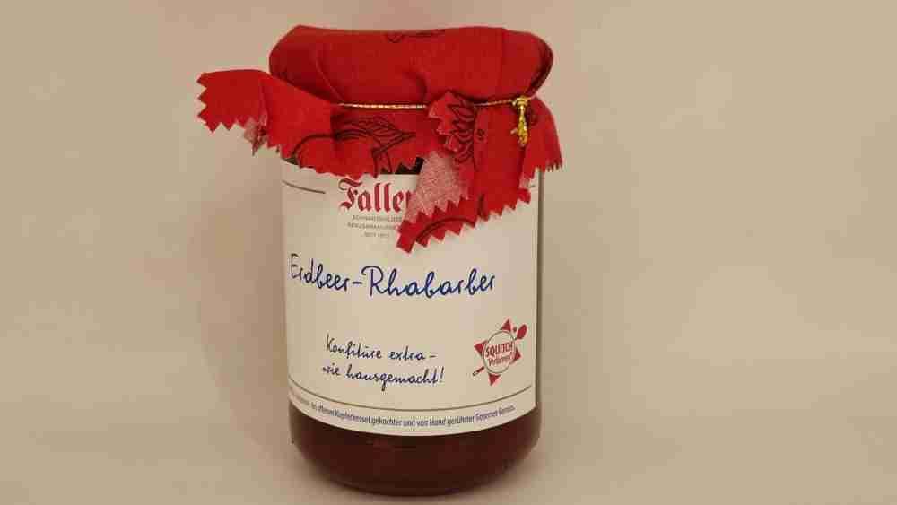 Erdbeer + Rhabarber Konfitüre