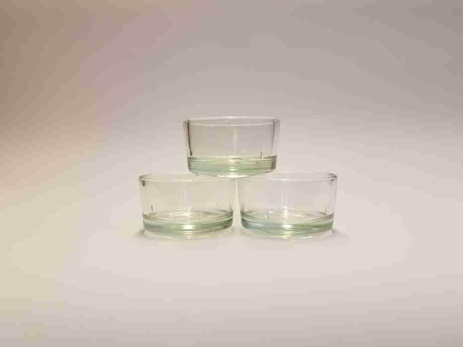 Glashülse für Teelicht