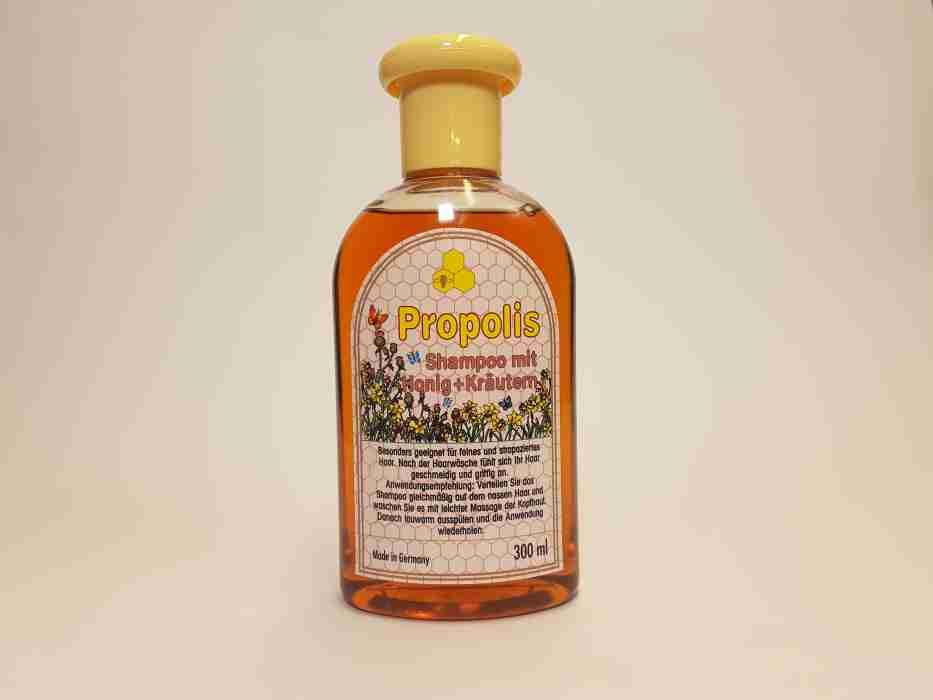 Propolis und Honigschampoo