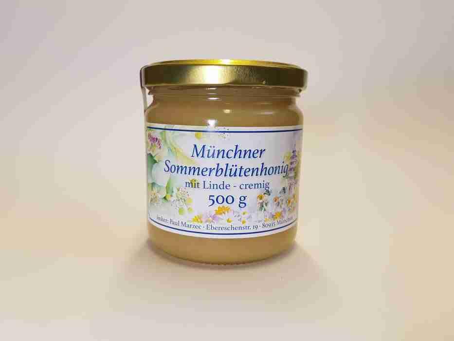 Münchner Sommerblüte mit Linde