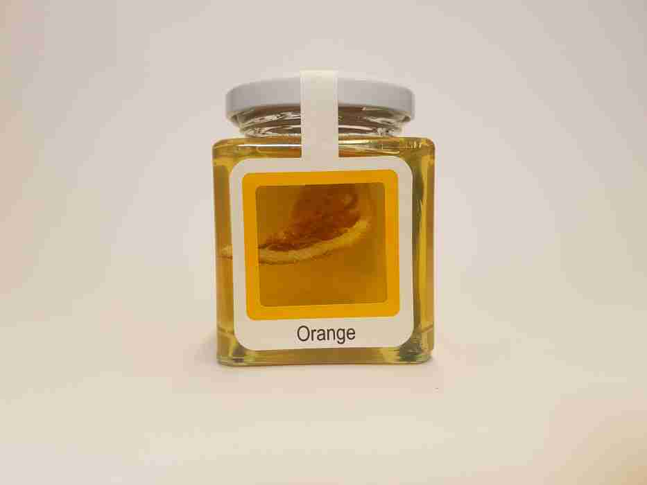 Orange im Honig
