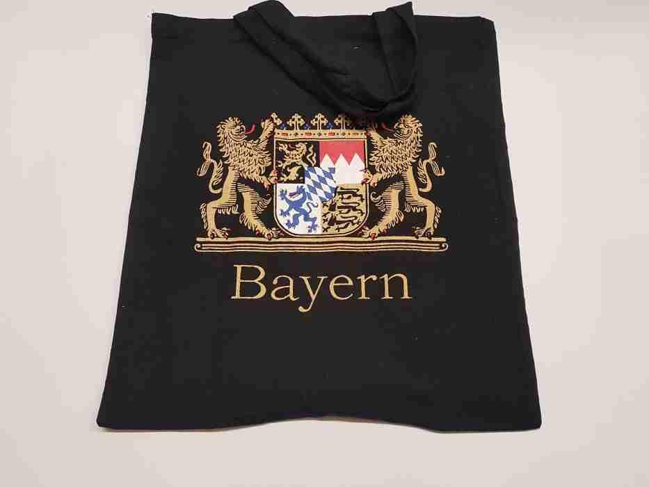 Mchn Tasche schw. Wappen