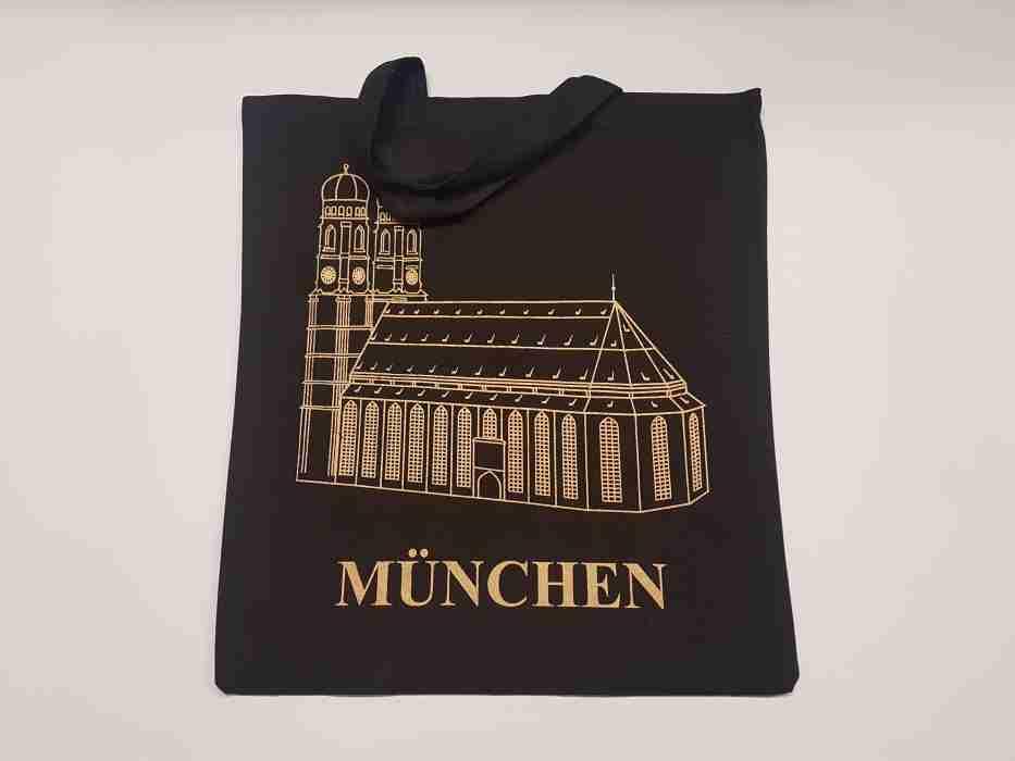 Mchn Tasche schw. Frauenkirche