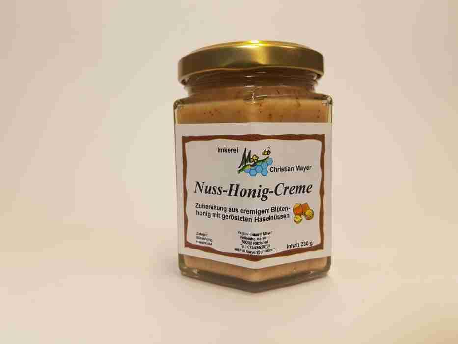 Nuß-Honig-Creme