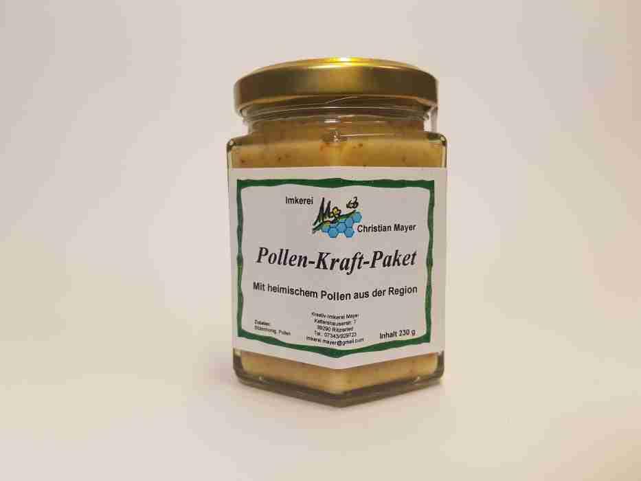 Pollen-Kraft-Paket